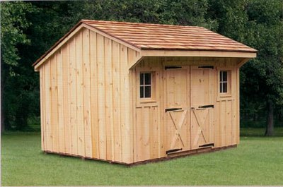 Plan from making a sheds outdoor shed vinyl siding diy for Board and batten shed plans